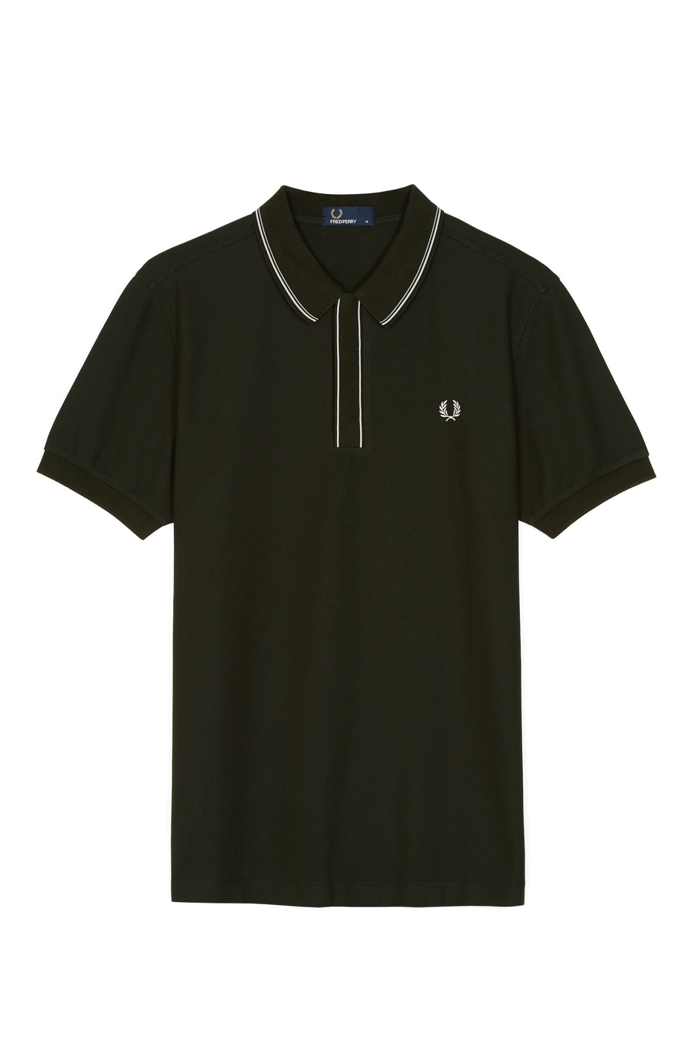 Fred Perry Tipped Placket Piqué Polo Shirt