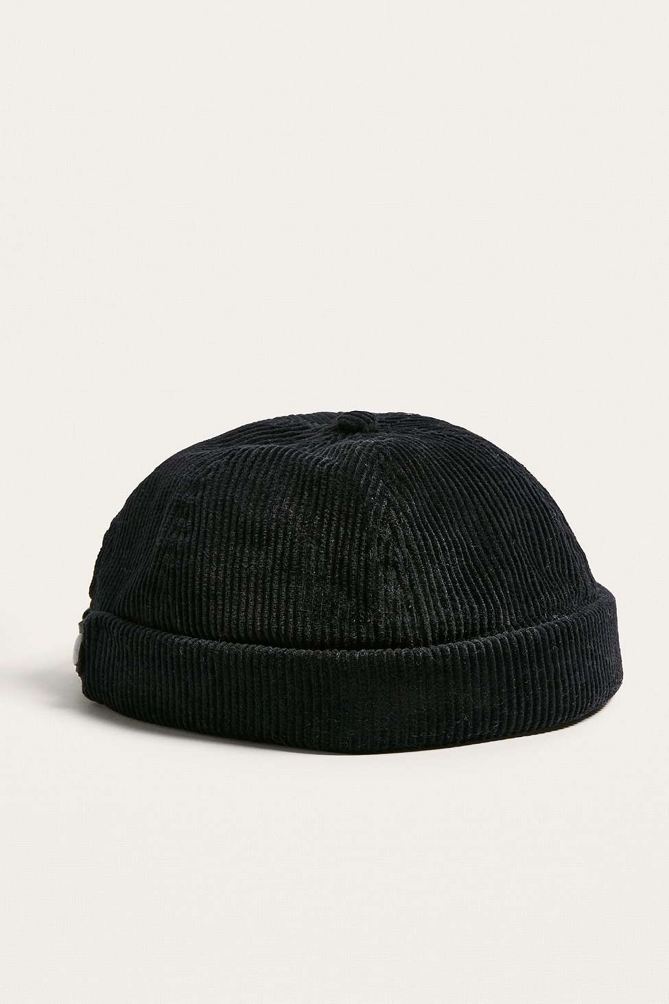 UO Black Cord Docker Cap by Urban Outfitters — Thread d4e927f7081