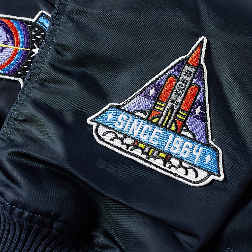 f4962b0c0 Alpha Industries x Daily Paper MA-1 'Zambian Space Program' Jacket by Alpha  Industries