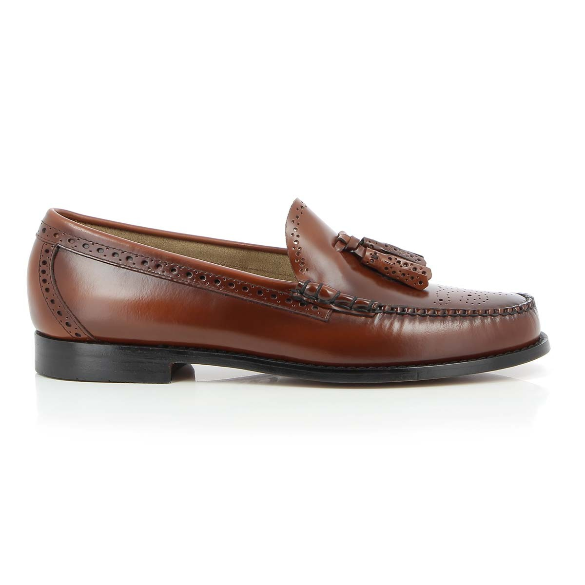 G.H. Bass & Co. Weejuns Larkin Brogue Mid Brown Leather