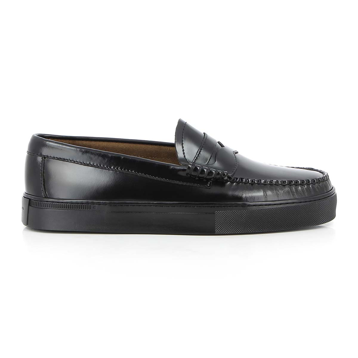 G.H. Bass & Co. Weejuns Cup Larson Penny Black Mono Leather