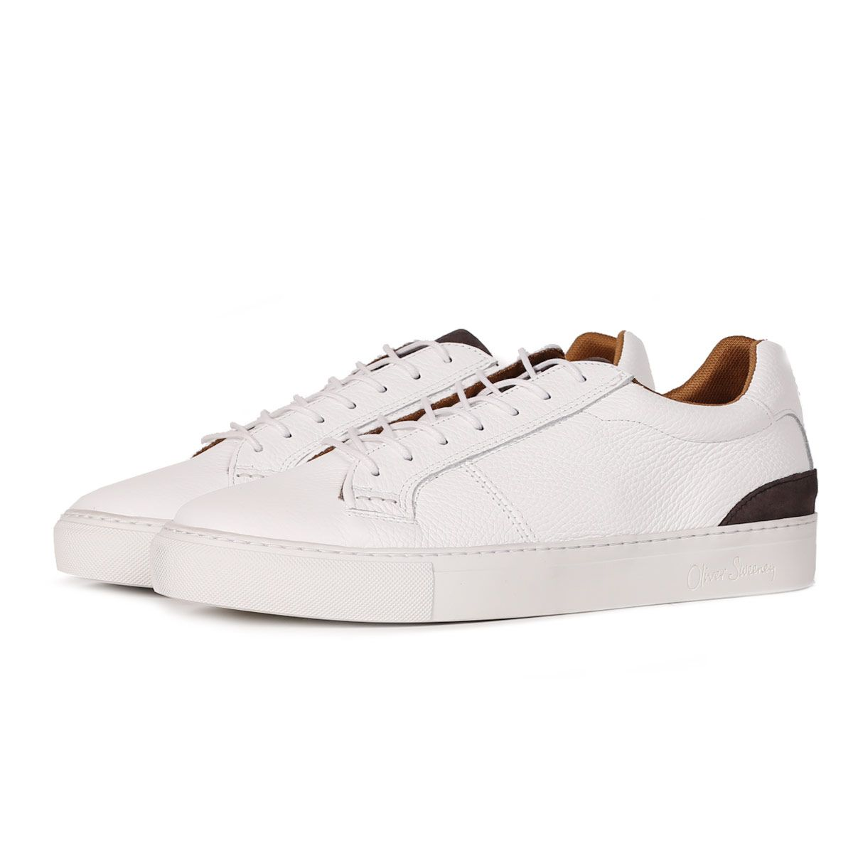 Marmelos White - Casual Leather Trainer