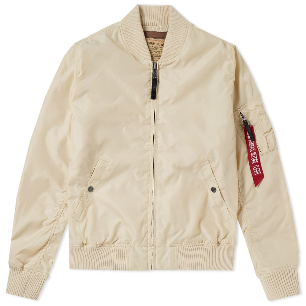 Alpha Industries Caramel MA-1 TT Jacket