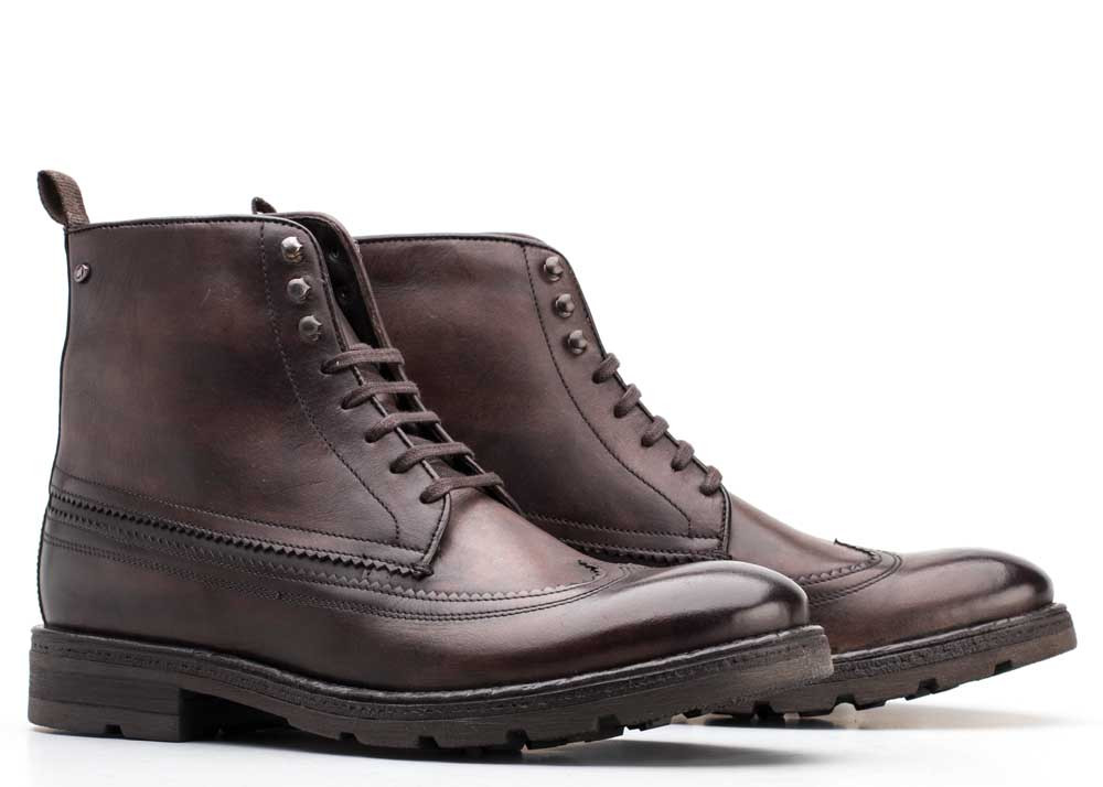 Base London Brown Valiant Washed
