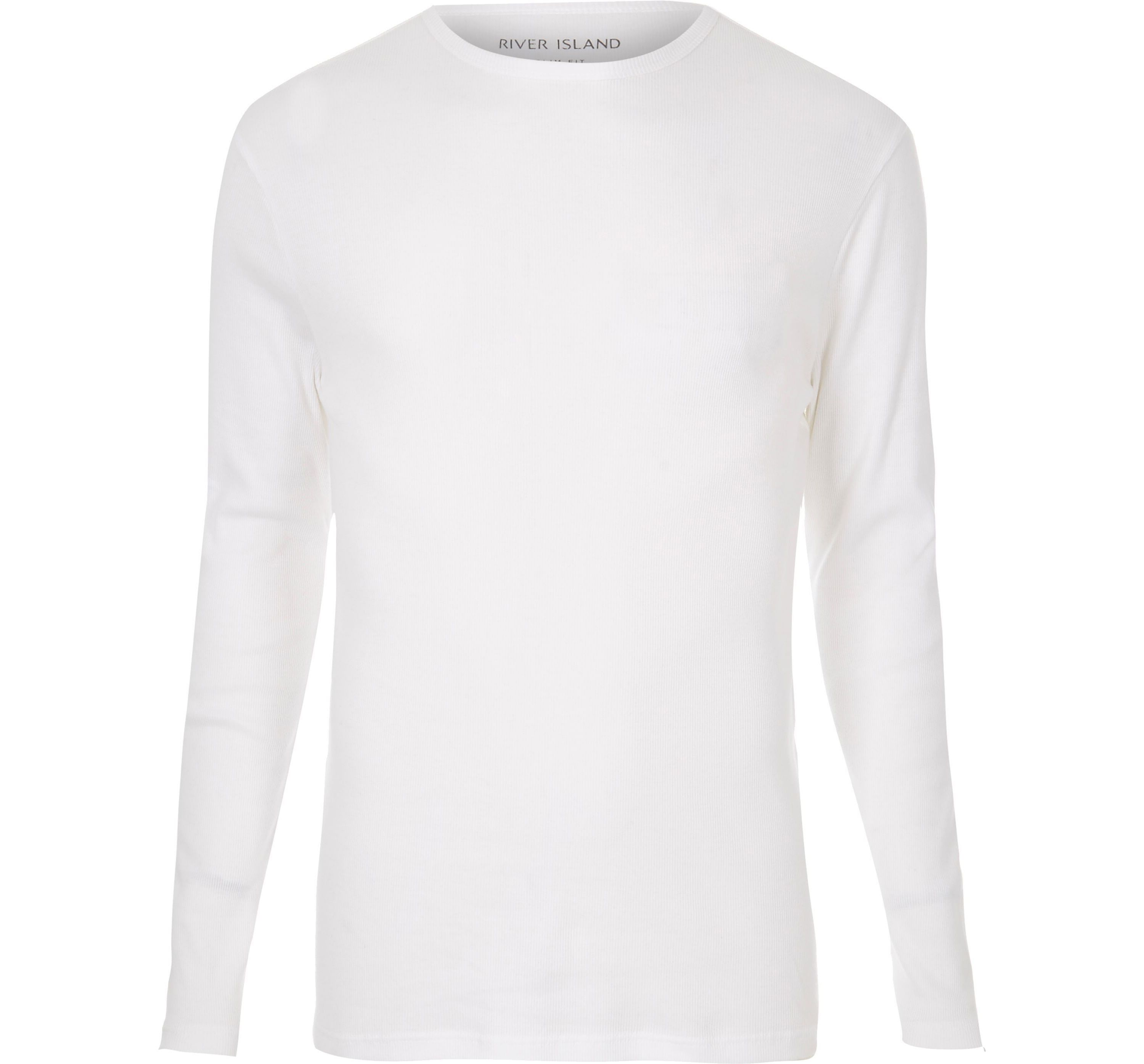 Mens big and tall white long sleeve t shi thread for Mens long sleeve t shirts tall