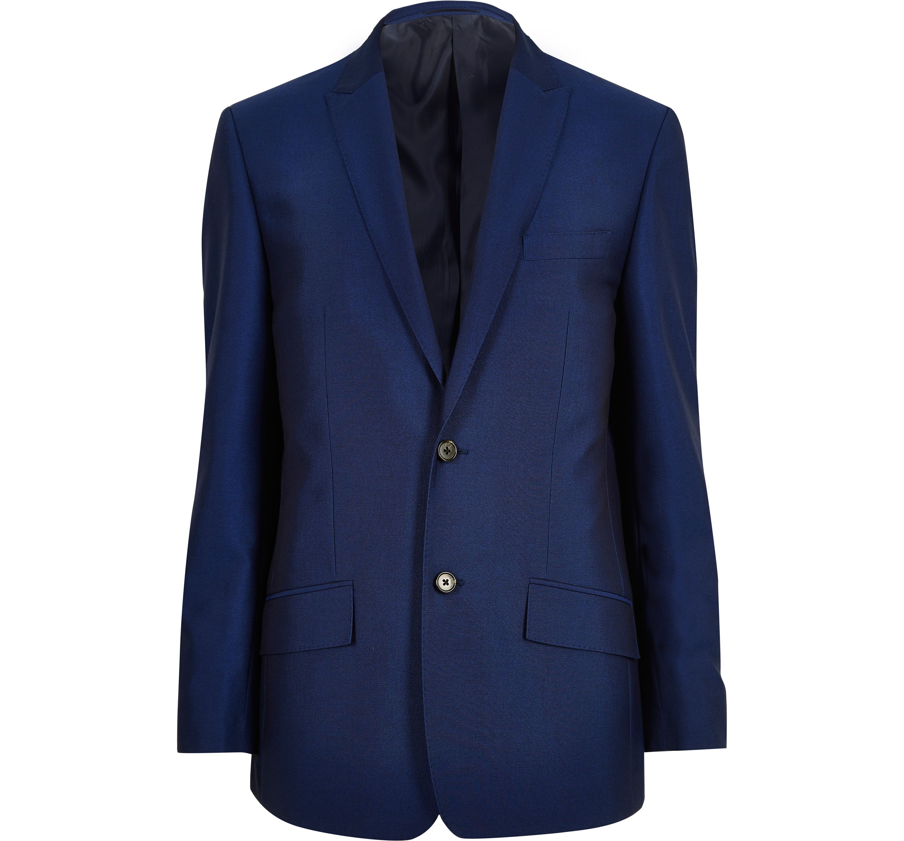 River Island Mens Blue tailored suit jacket
