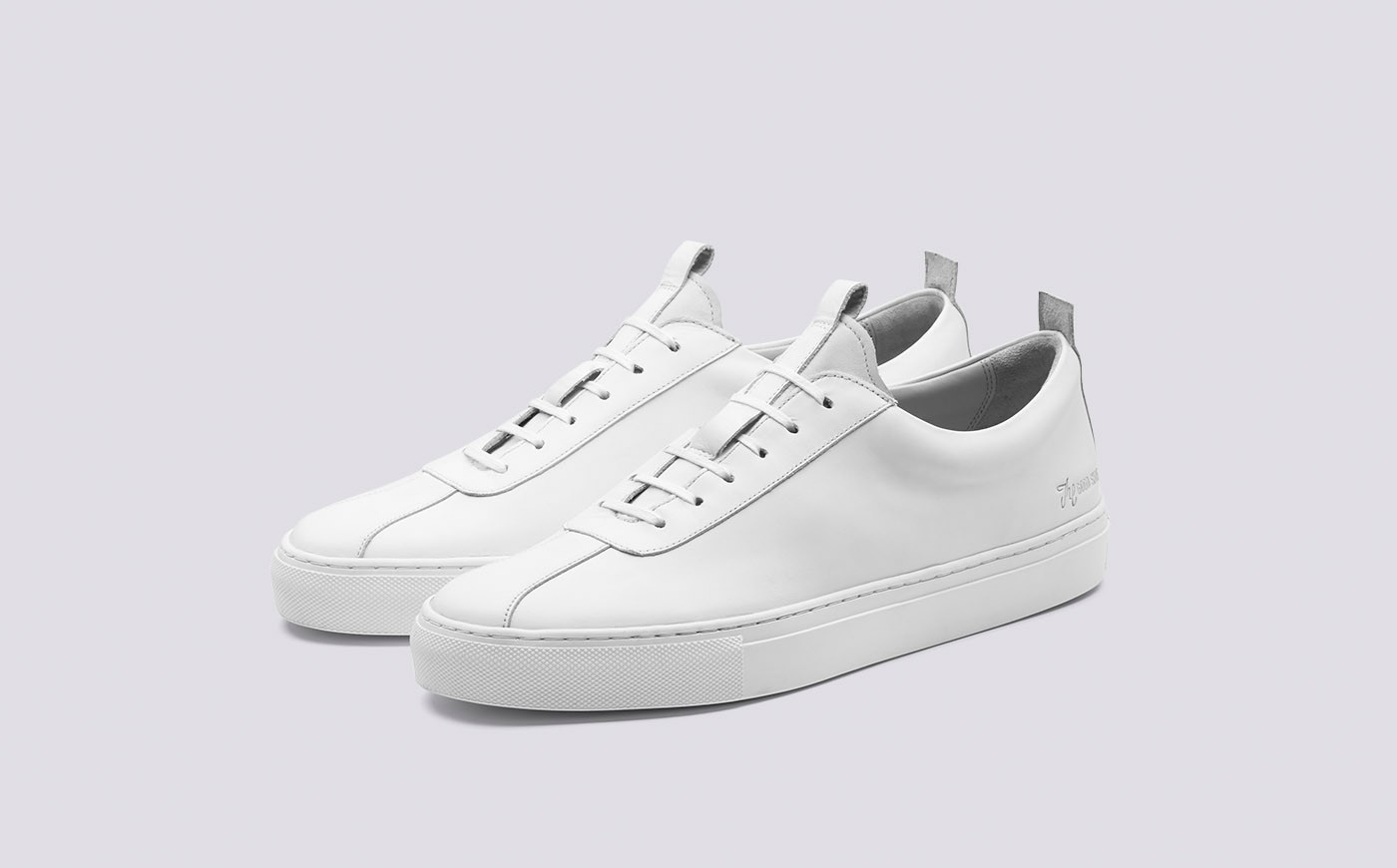 Grenson White Sneaker 1 Men's