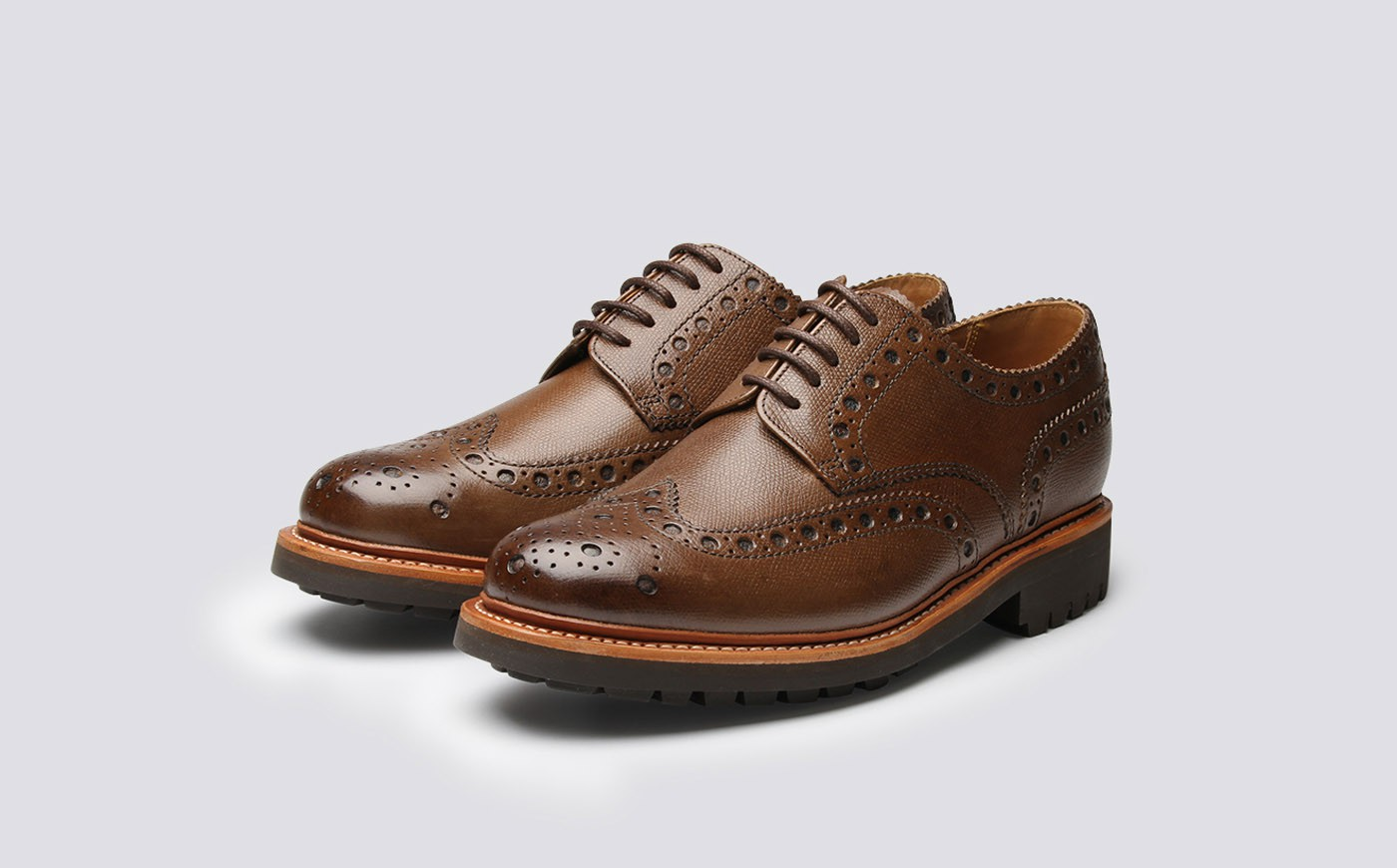 Grenson Brown Archie