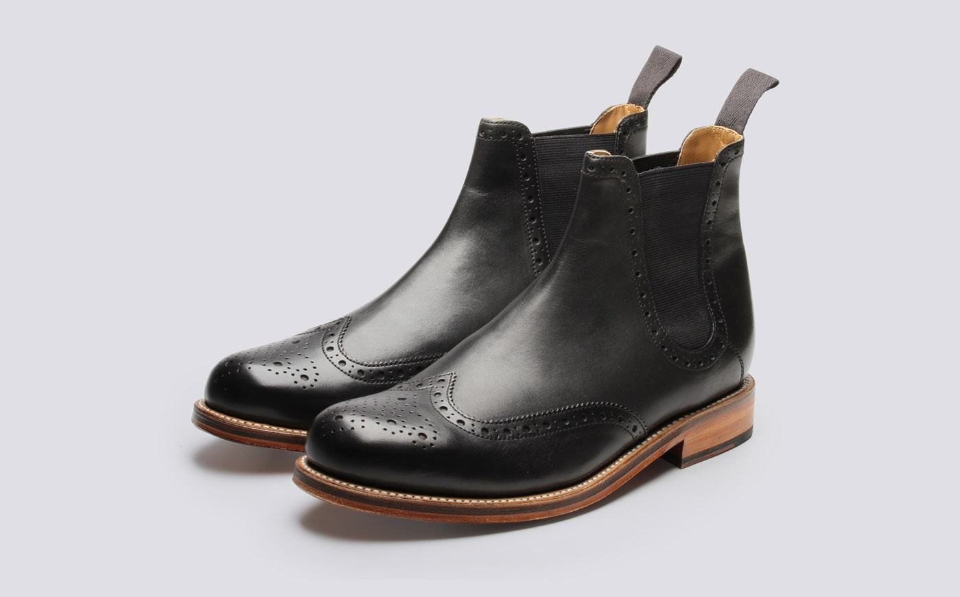 Grenson Black Jacob