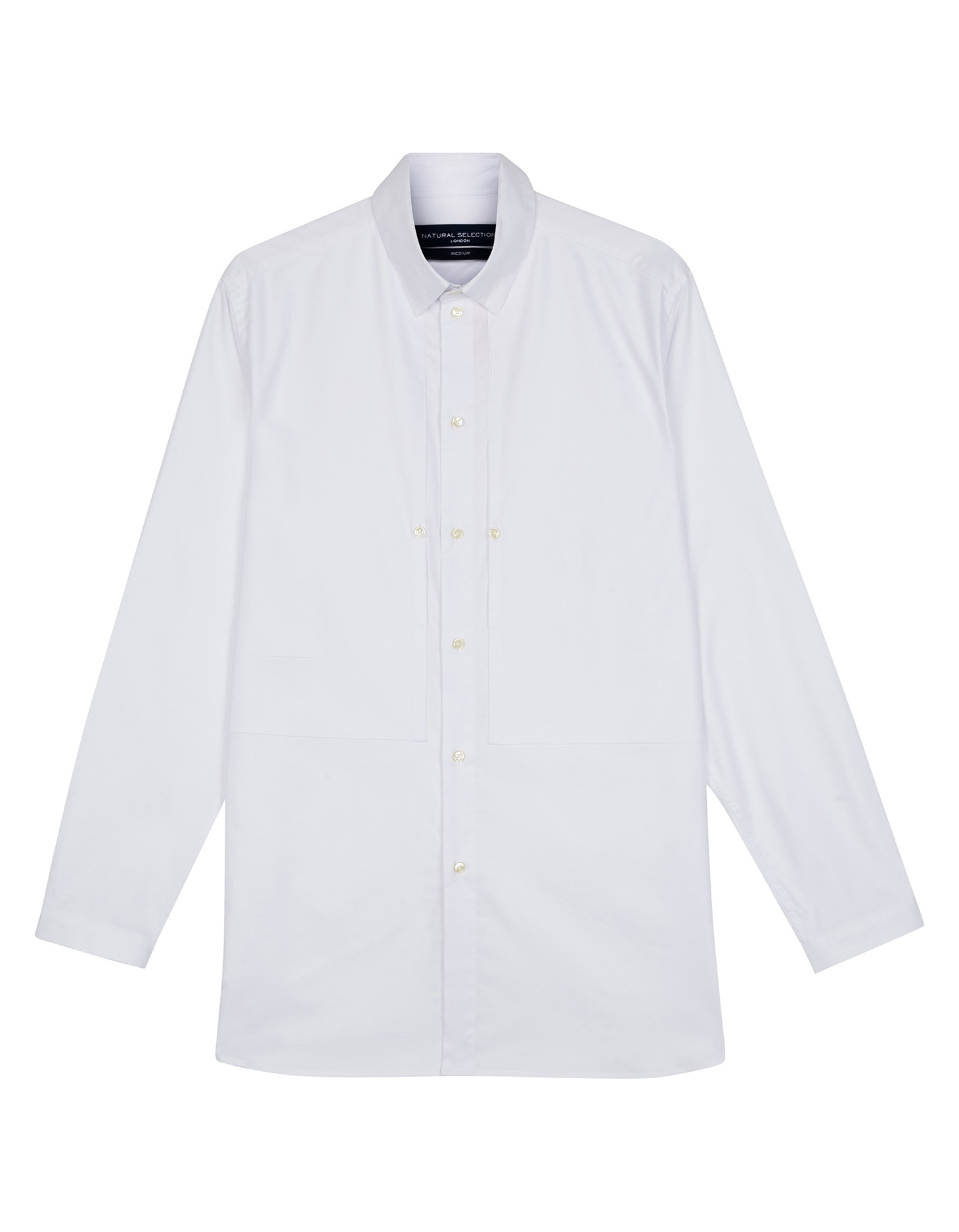 Natural Selection Leander Shirt Oxford White