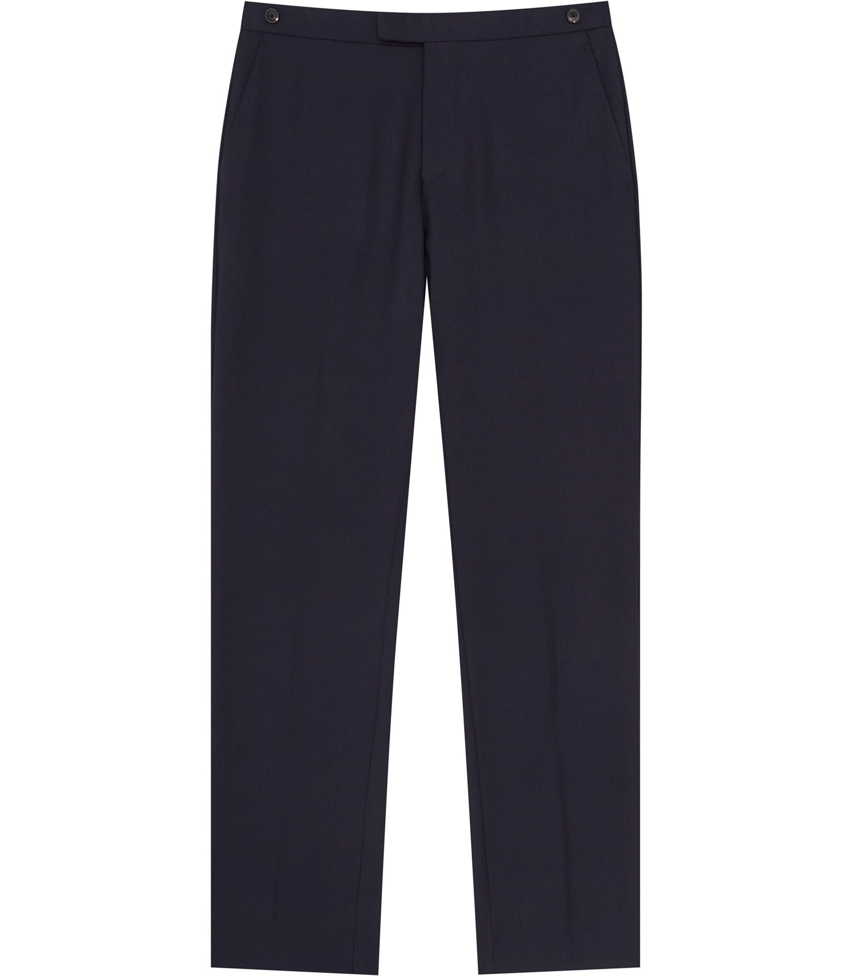 Reiss Navy Charlie T Slim-Fit Trousers