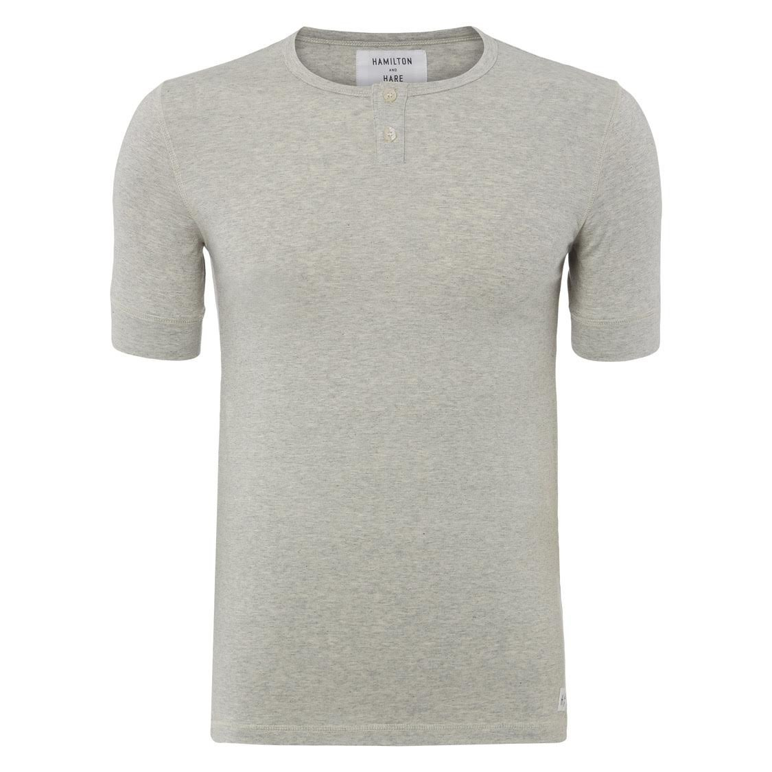 Hamilton & Hare Thermal Henley Top