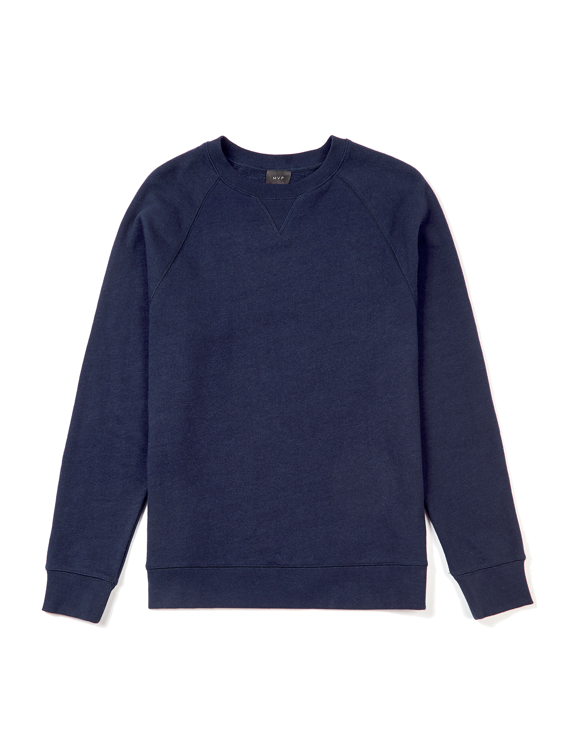 MVP Lindley Raglan Loop Back Sweater - Navy