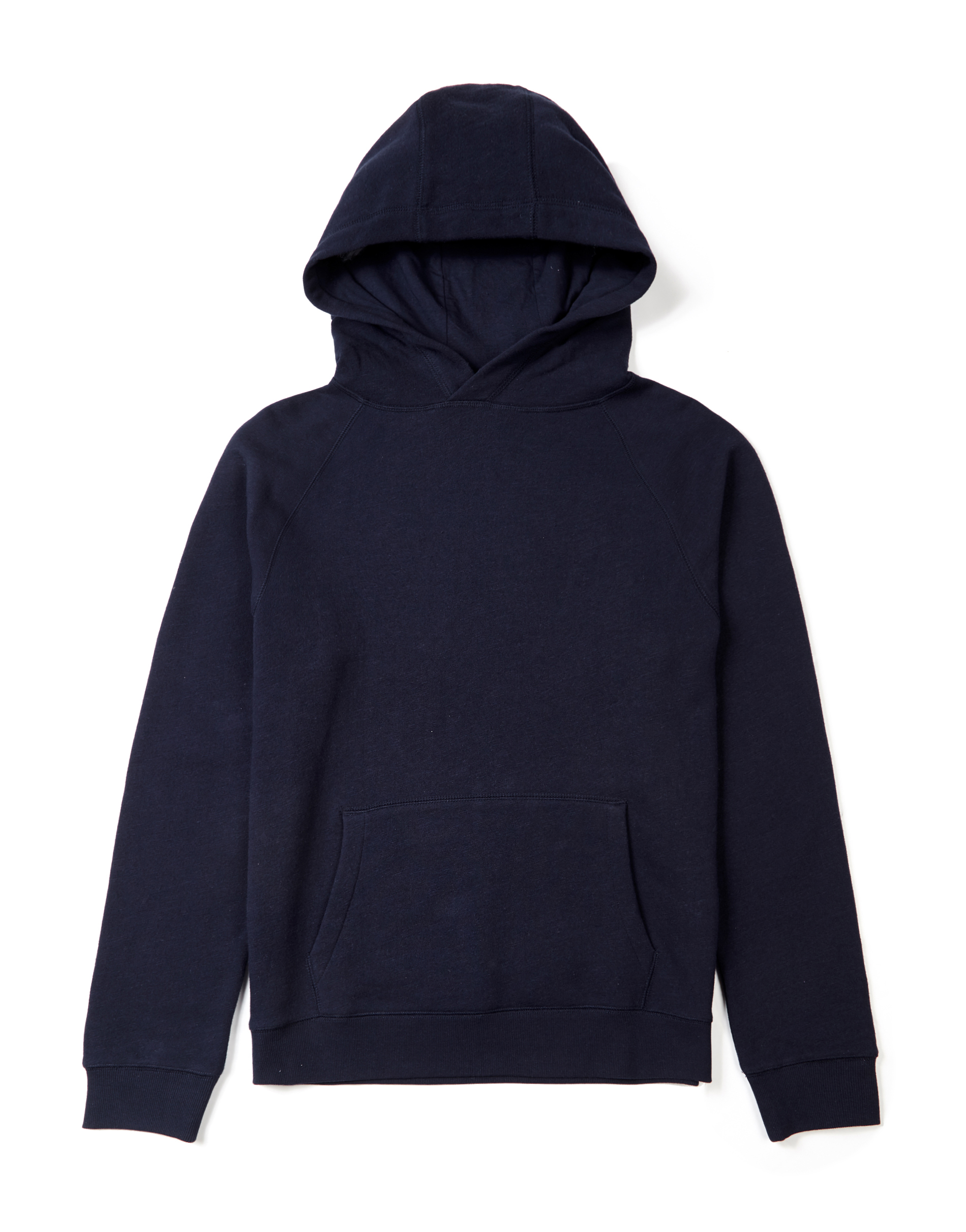 MVP Lowood Loop Back Sweat Popover Hoodie - Navy