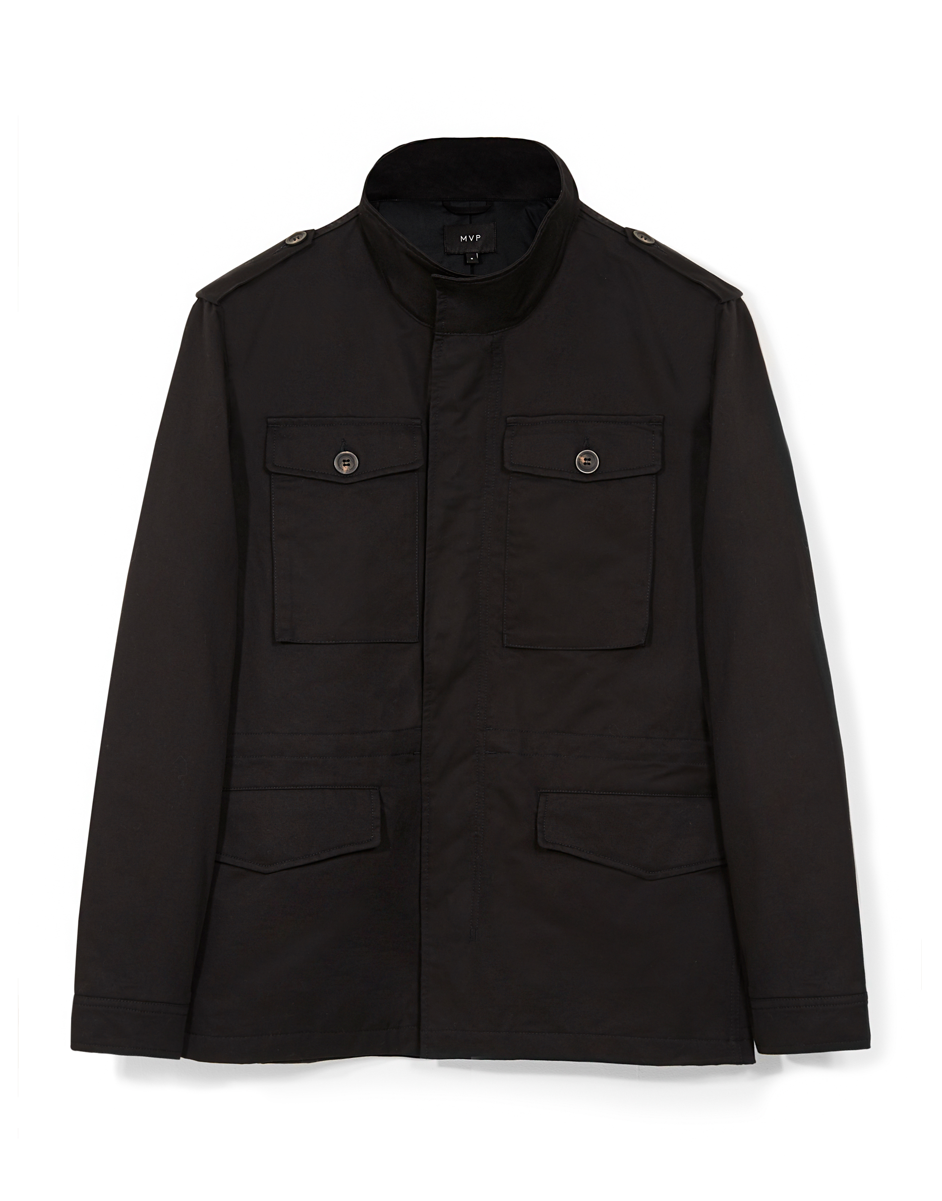 MVP BLACK Wilmot Cotton Field Jacket