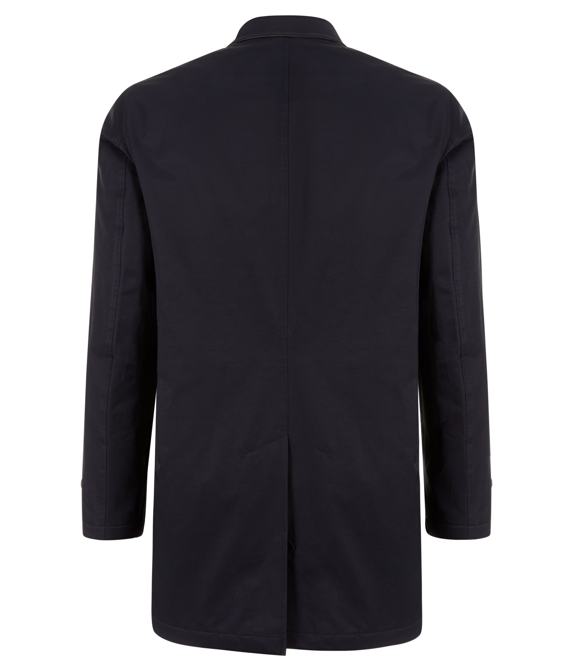 Nigel Hall Navy Quilted Spring Mac (Morrison)