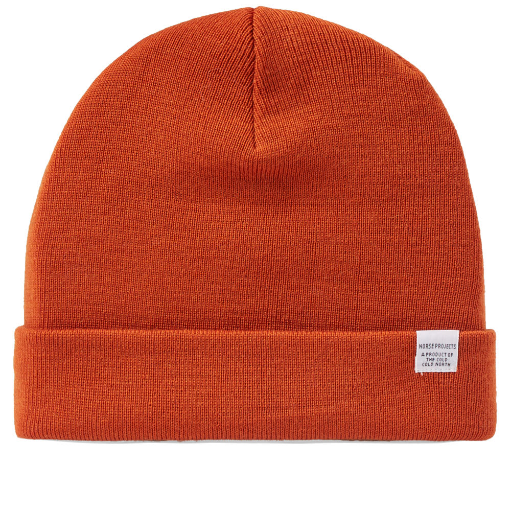b448bd2fce1 Norse Projects Ribbed Wool Beanie - Parchment N Lead