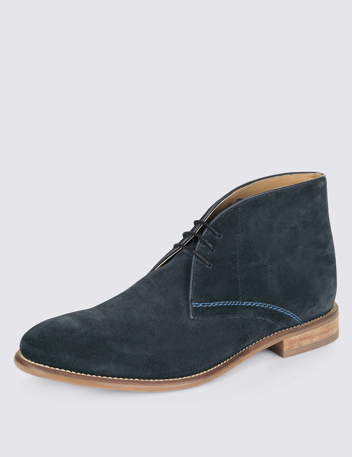 Suede Chukka Boots by Marks \u0026 Spencer