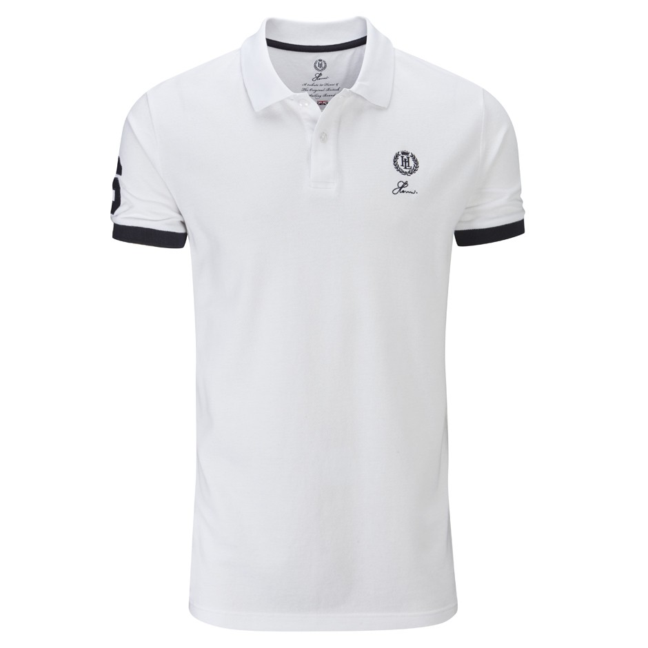 Henri Lloyd Bright White The Henri Regular Polo