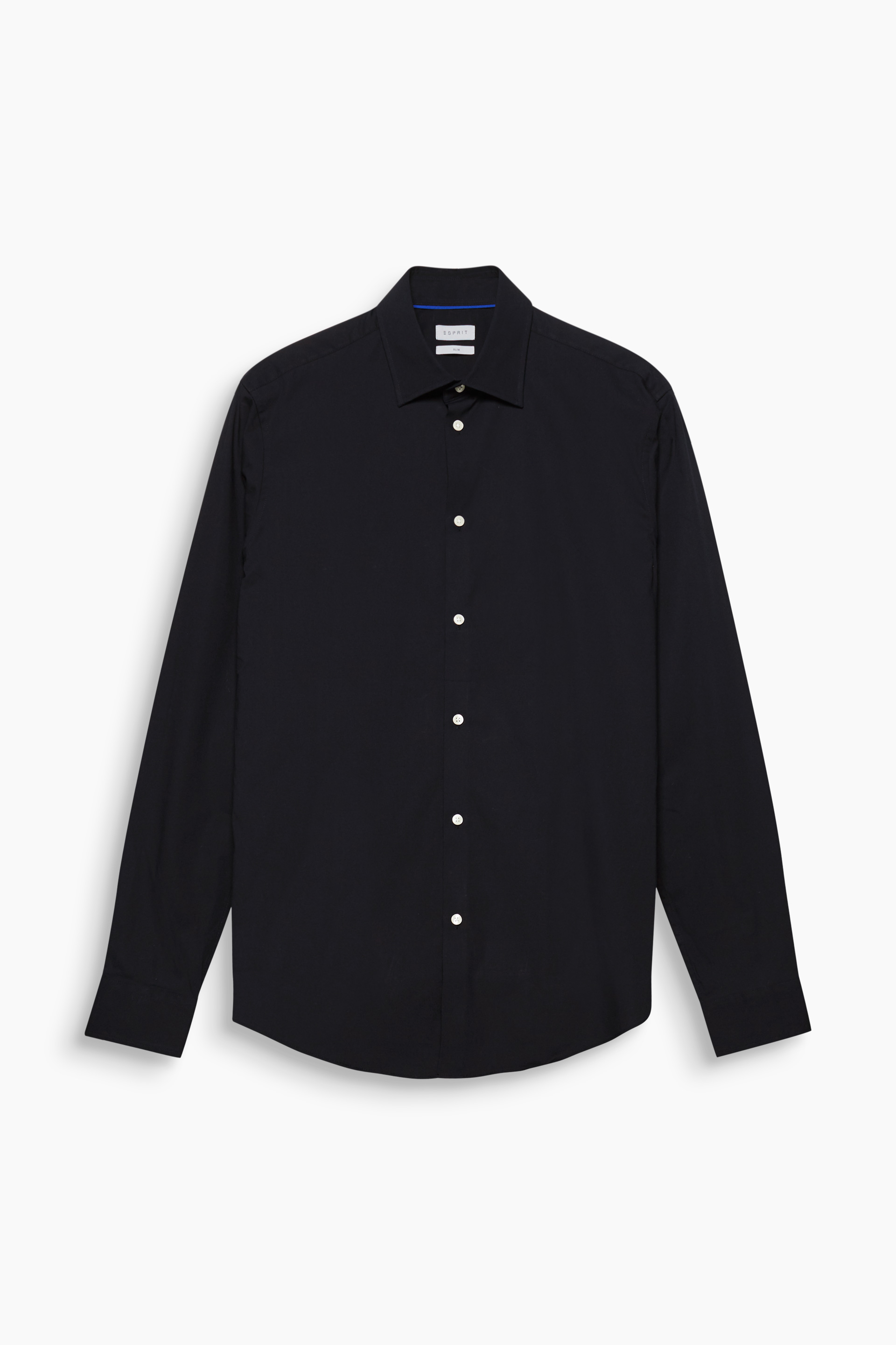 Esprit BLACK Slim Fit Stretch Cotton Shirt