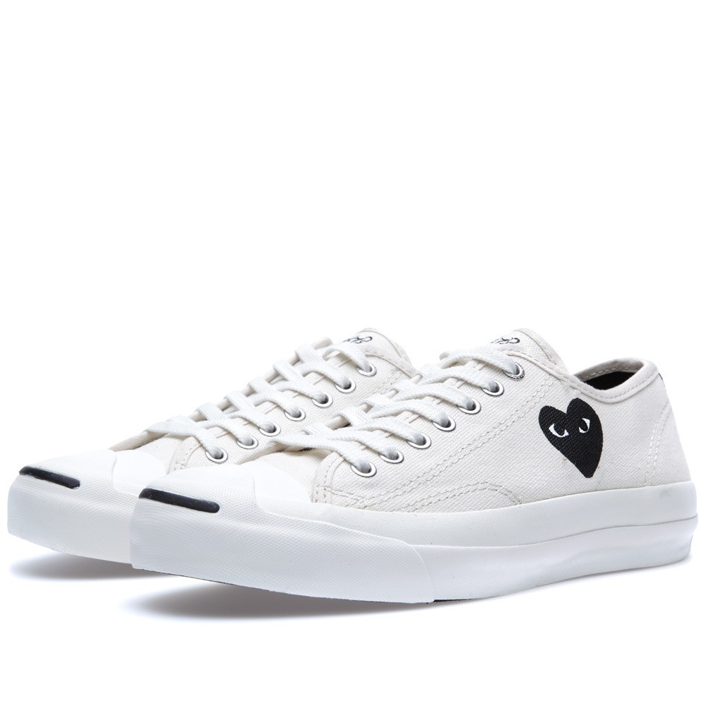 9f164a08526f46 Comme des Garcons Play x Converse Jack Purcell Ox by CDG Play