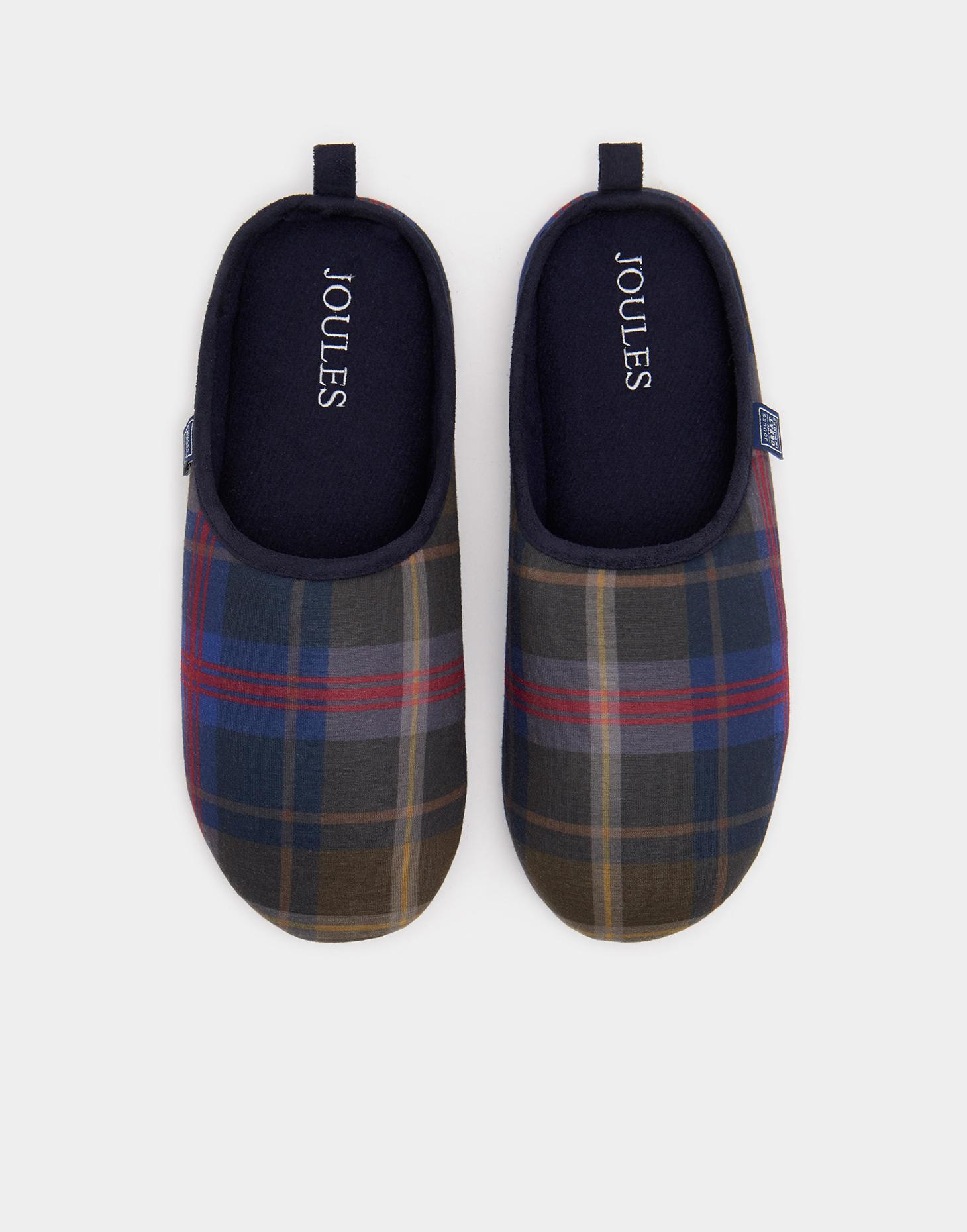 Joules Grey MULES Slippers