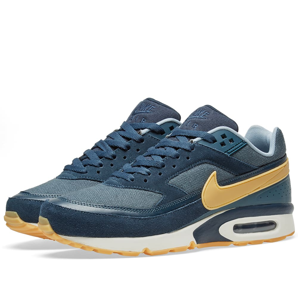 new arrival 461ad bc0a5 hot nike army navy gum blue fox air max bw premium ea996 a78a7