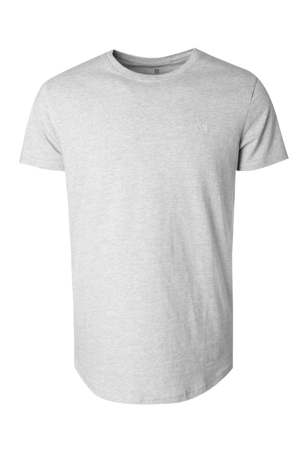 boohooMAN grey Short Sleeve Active Gym T-Shirt