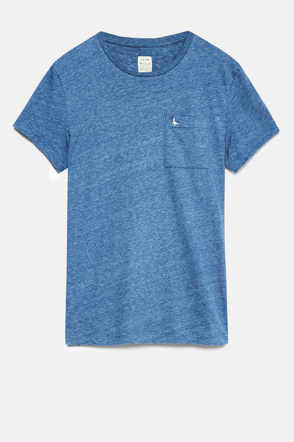 Jack Wills Blue AYLEFORD T-SHIRT