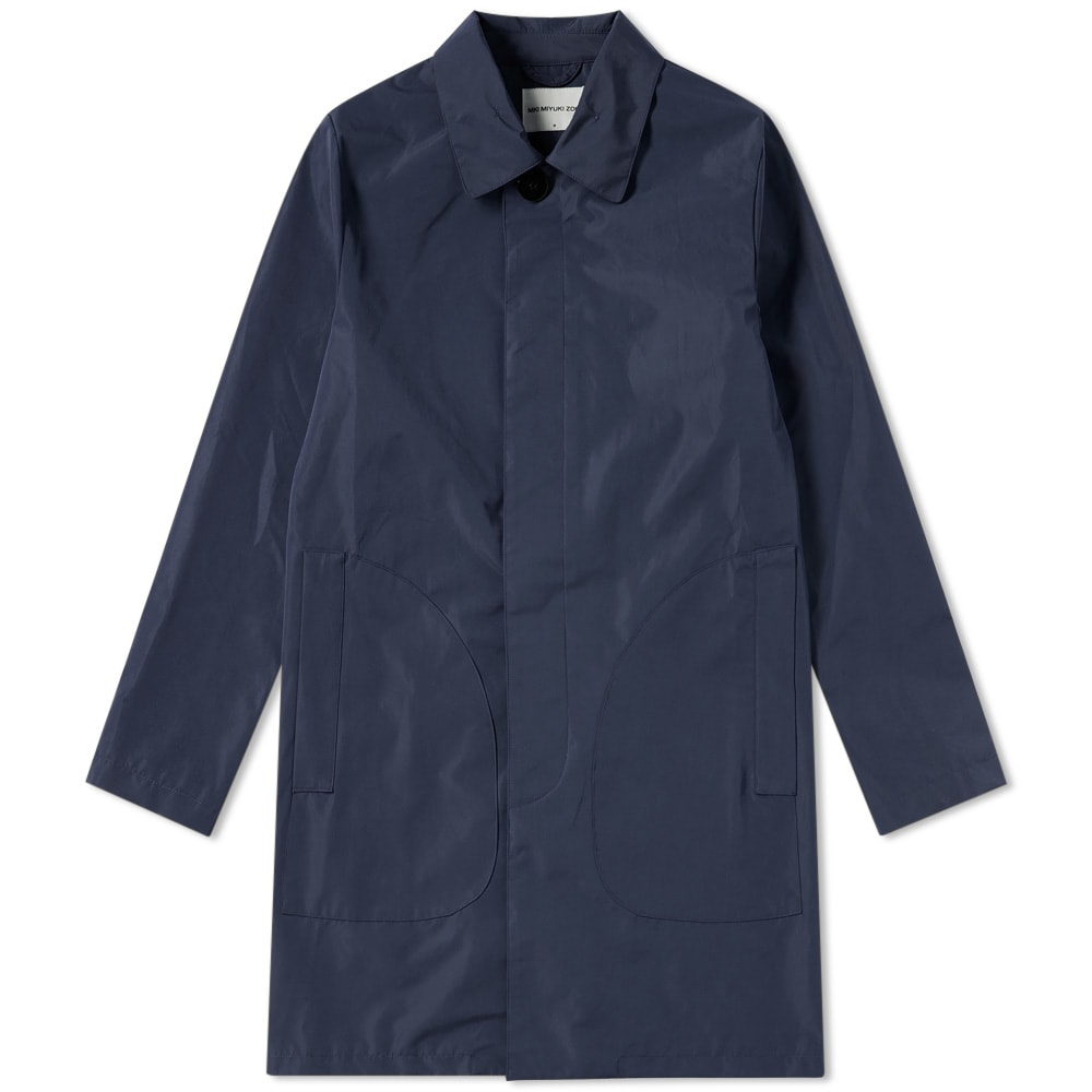 MKI Navy 3 Layer Nylon Mac