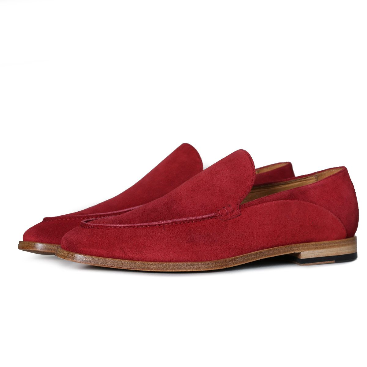 Oliver Sweeney Genoa Red - Suede Moccasin