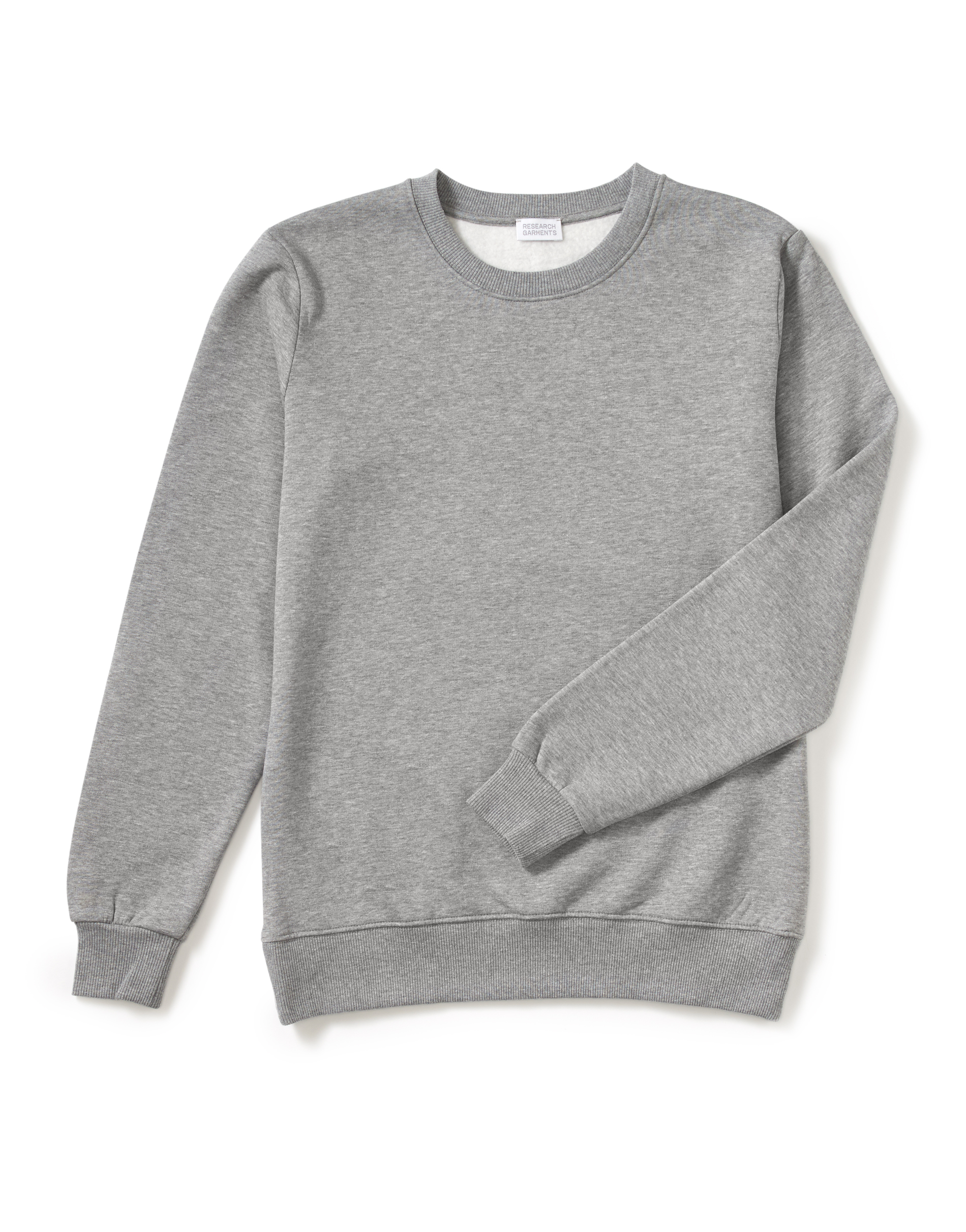Research Garments The Perfect Grey Sweatshirt
