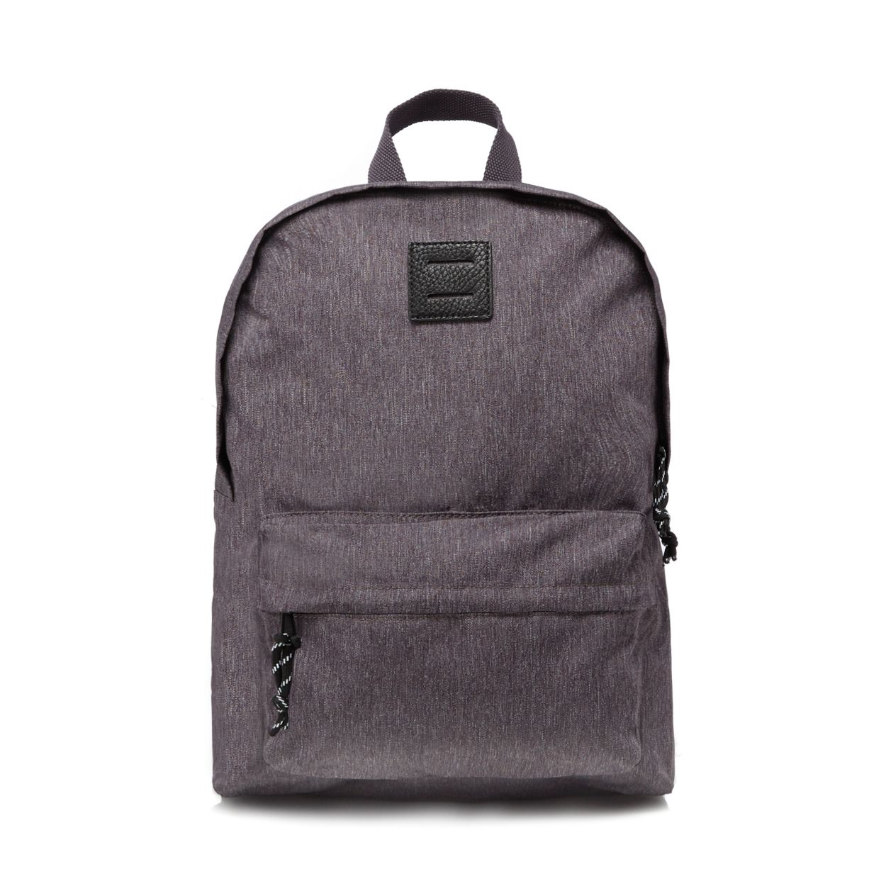 Red Herring Grey textured backpack