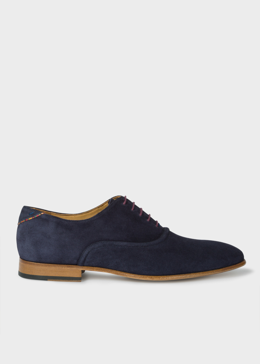 Paul Smith Men's Navy Suede 'Starling' Shoes