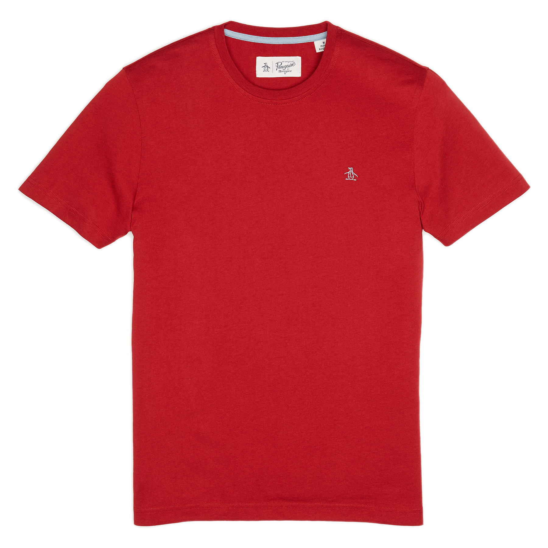 Original Penguin Rio Red Pin point embroidery tee