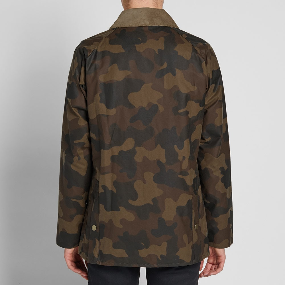 6df4a6db931e2 Barbour Heritage Waxed Camo SL Bedale Jacket. £279£139