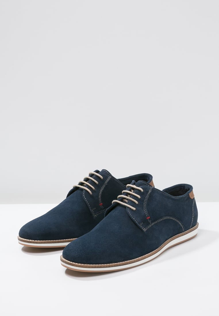 Pier One dark blue Casual lace-ups