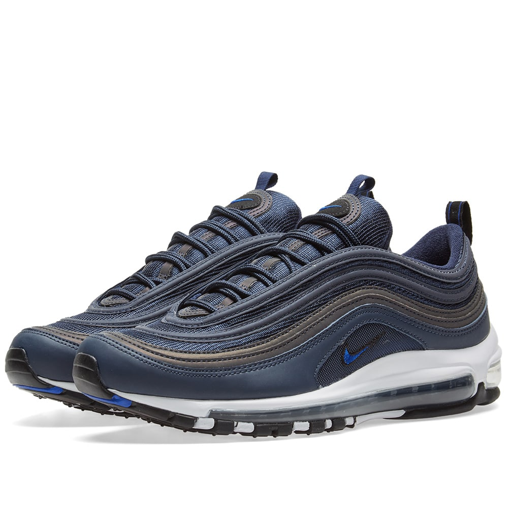 Nike Obsidian, White & Black Air Max 97