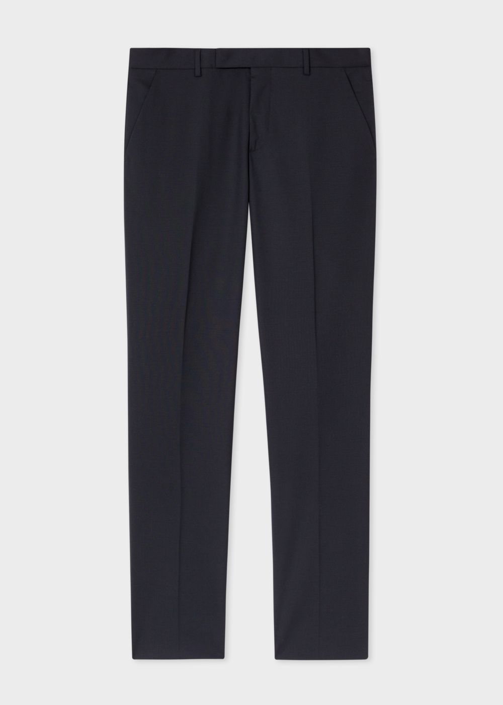 Paul Smith A Suit To Travel In - Men's Slim-Fit Black Stretch-Wool Trousers