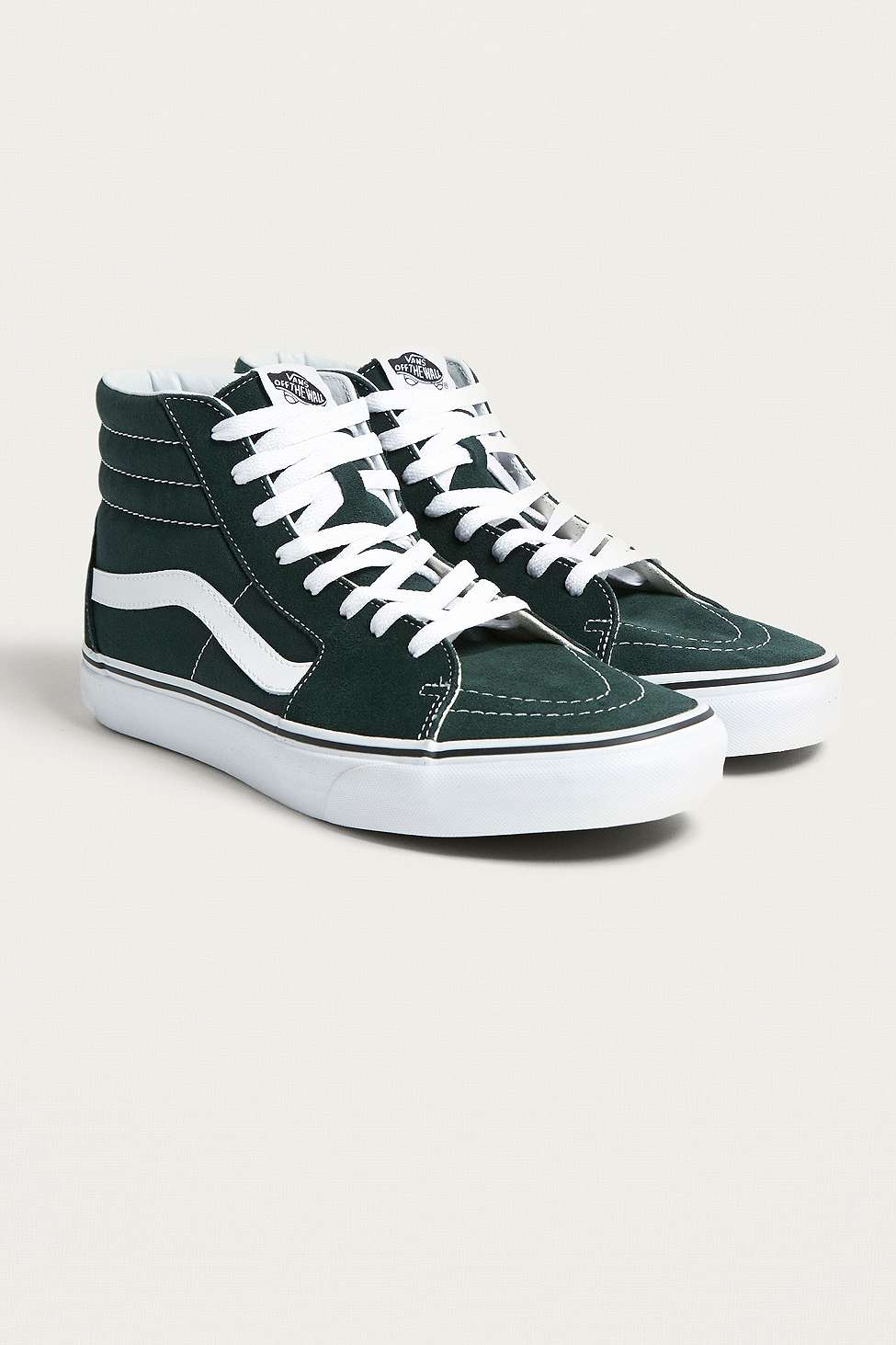 bcff34b242 Sk8-Hi Green Trainers by Vans — Thread