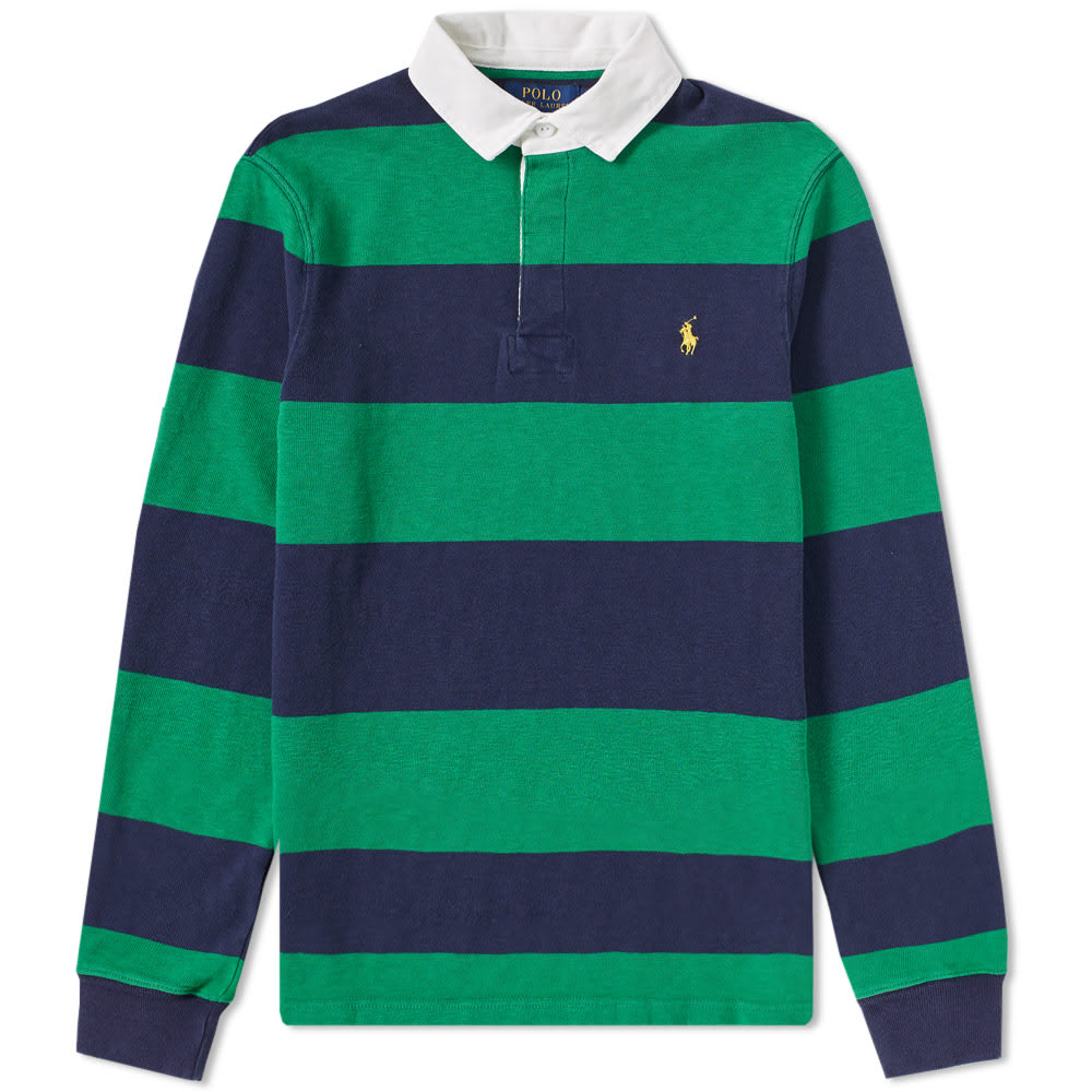 ef944f88876 Stripe Rugby Shirt by Polo Ralph Lauren — Thread