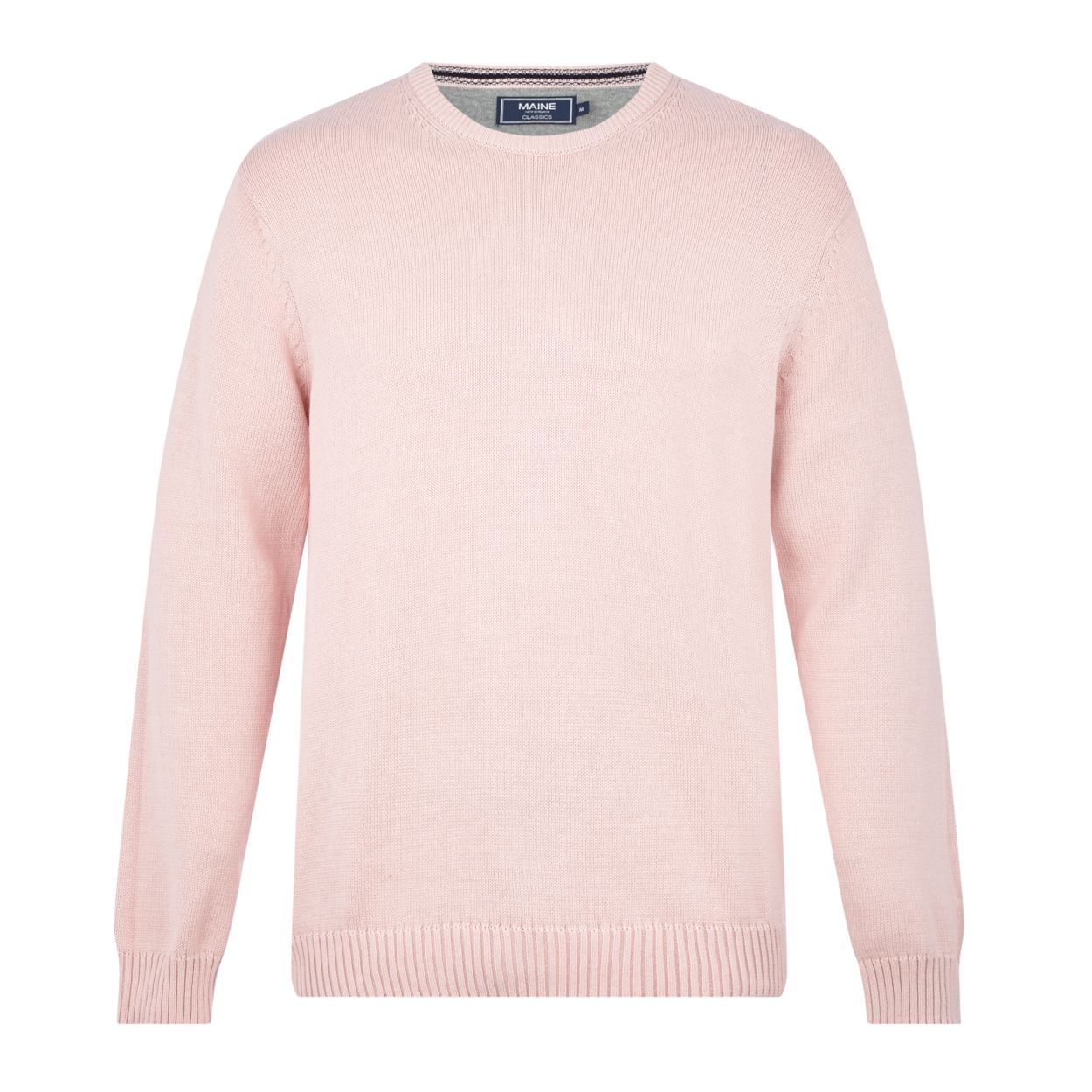 Maine New England Pale pink crew neck jumper