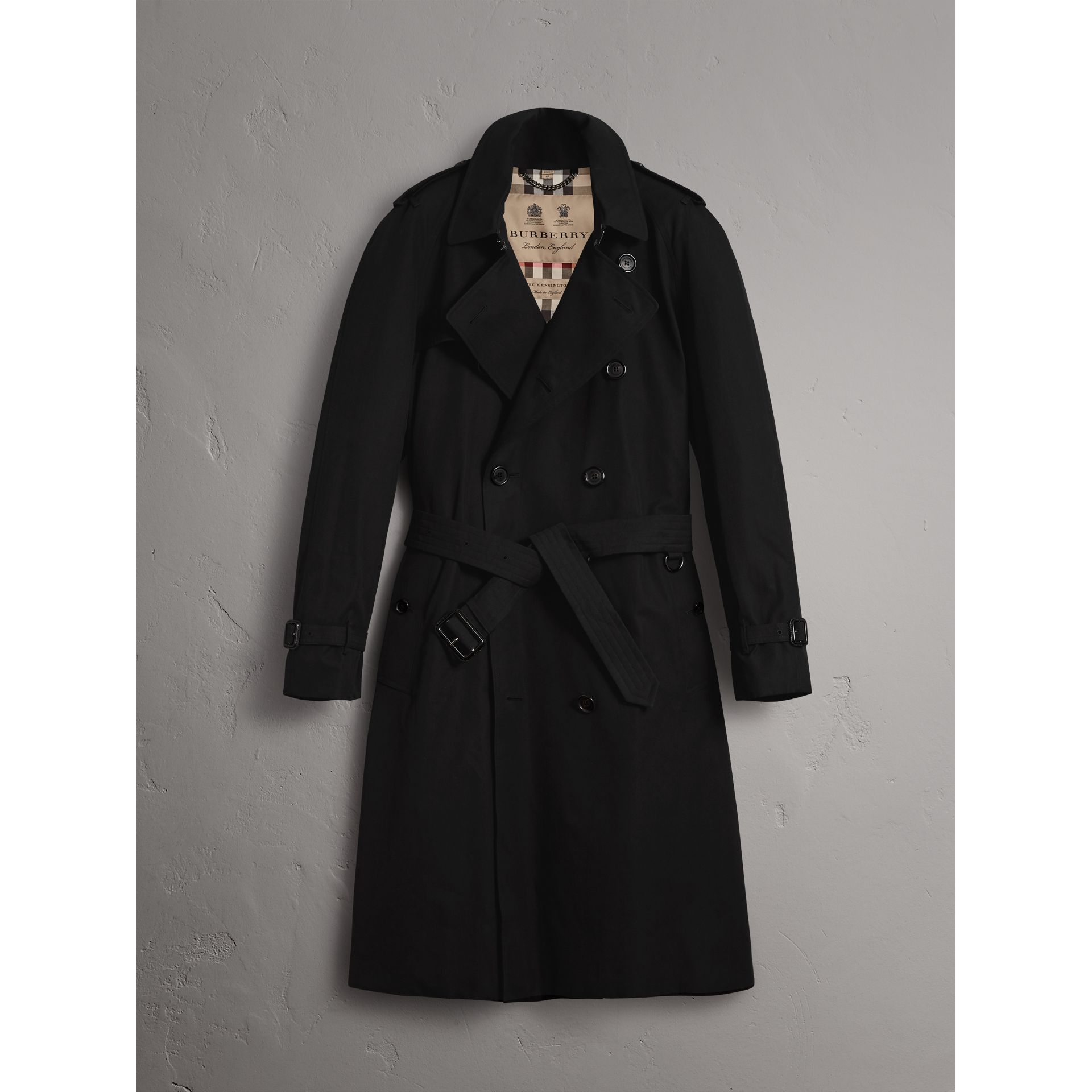 Burberry Black The Westminster – Extra-long Trench Coat
