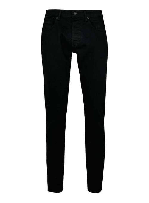 Topman Black stretch slim jeans