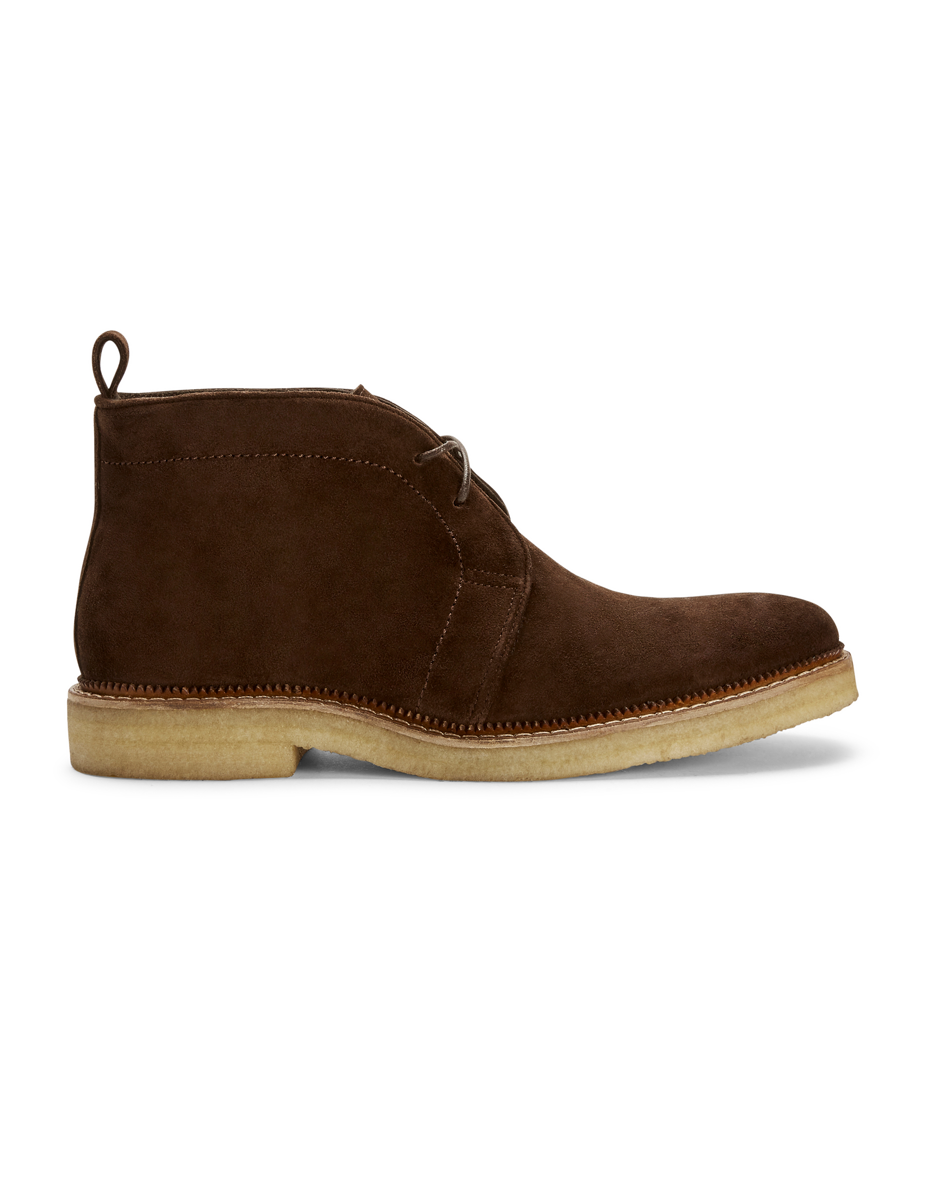 MVP Brown Suede Leather Desert Boot