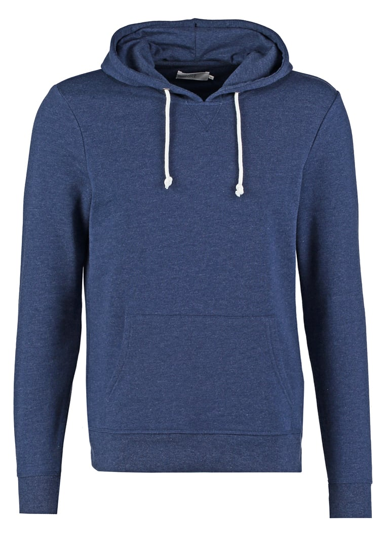 Pier One Mottled dark blue Hoodie