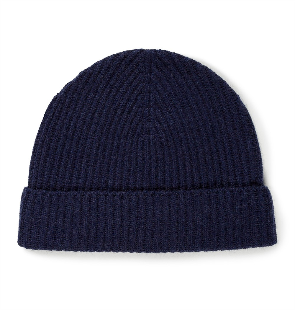 Cashmere Rib Hat by Sunspel — Thread 489a03483500