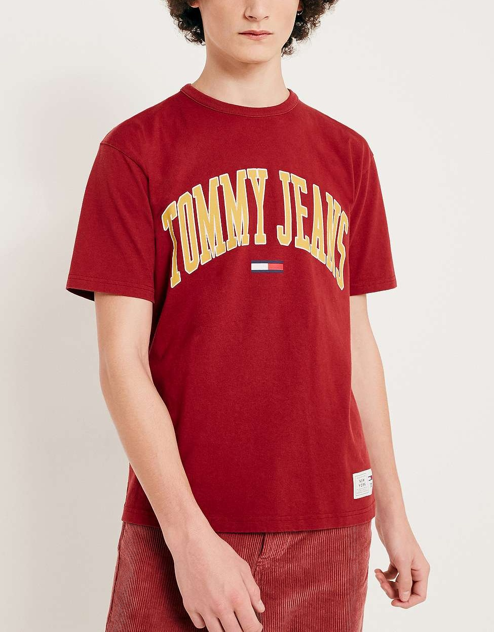 09e86da5 Collegiate Merlot T-Shirt by Tommy Jeans — Thread