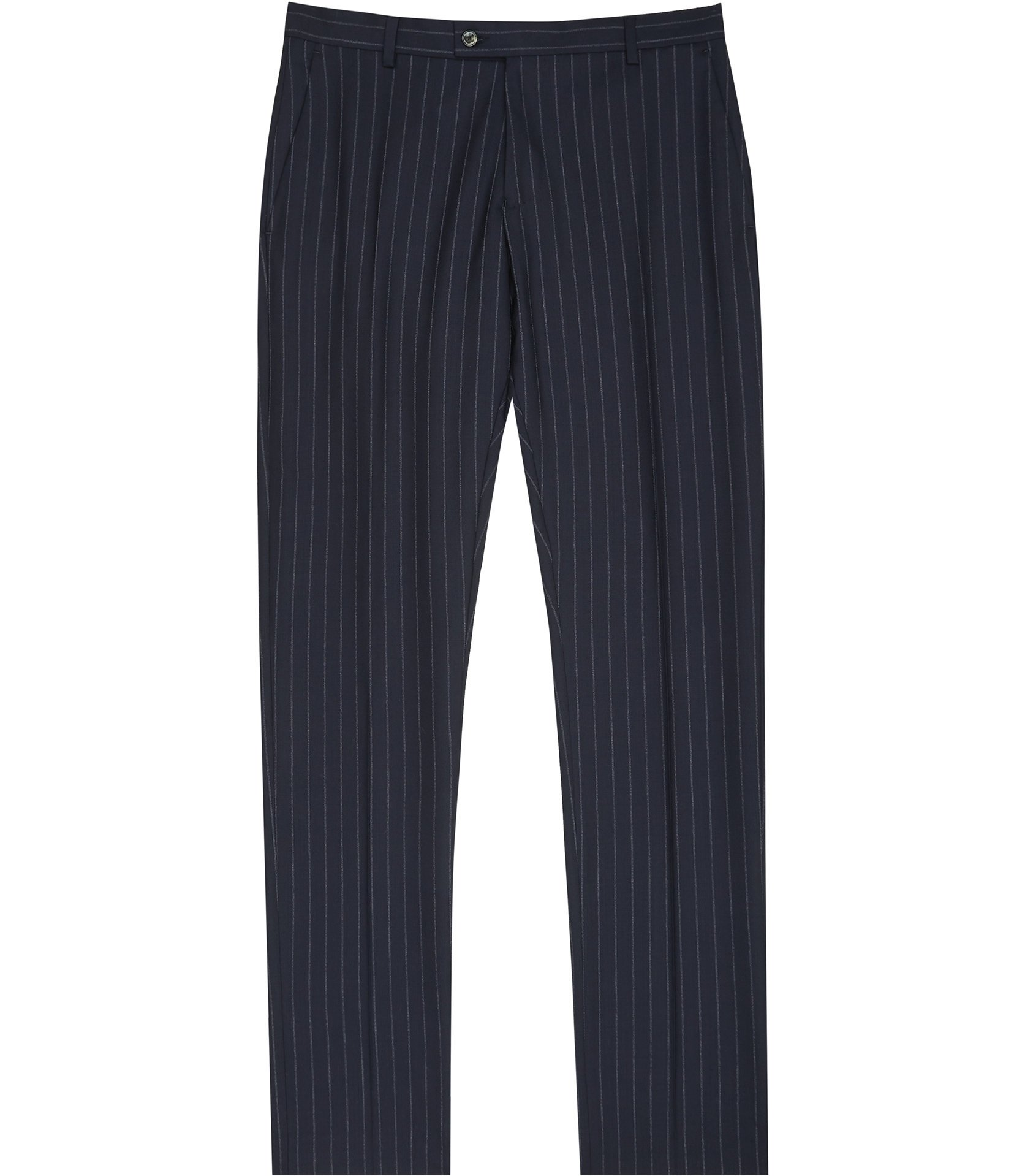 Reiss Navy Wonder T Slim Fit Trousers