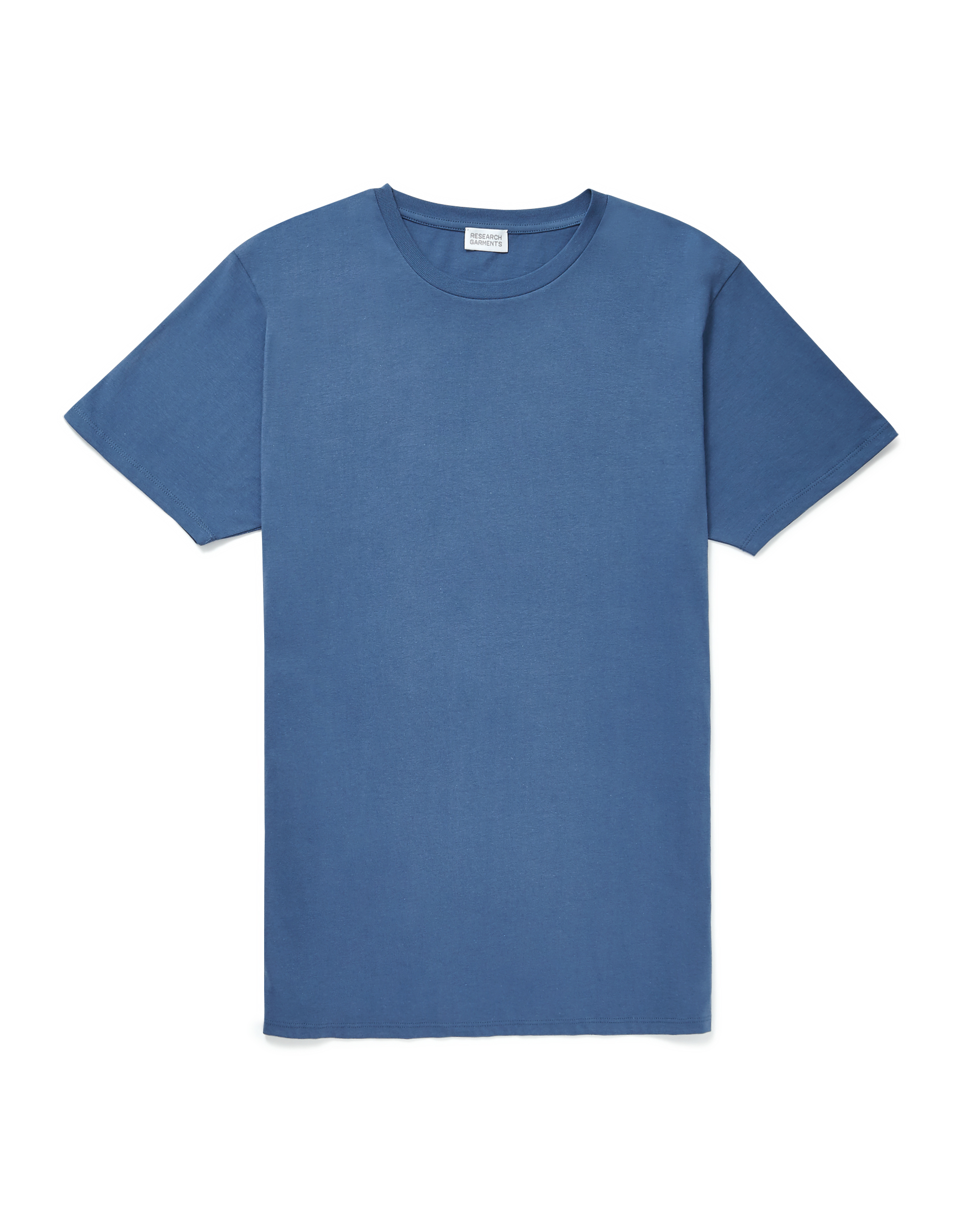 Research Garments Denim Blue The Perfect Blue T-shirt